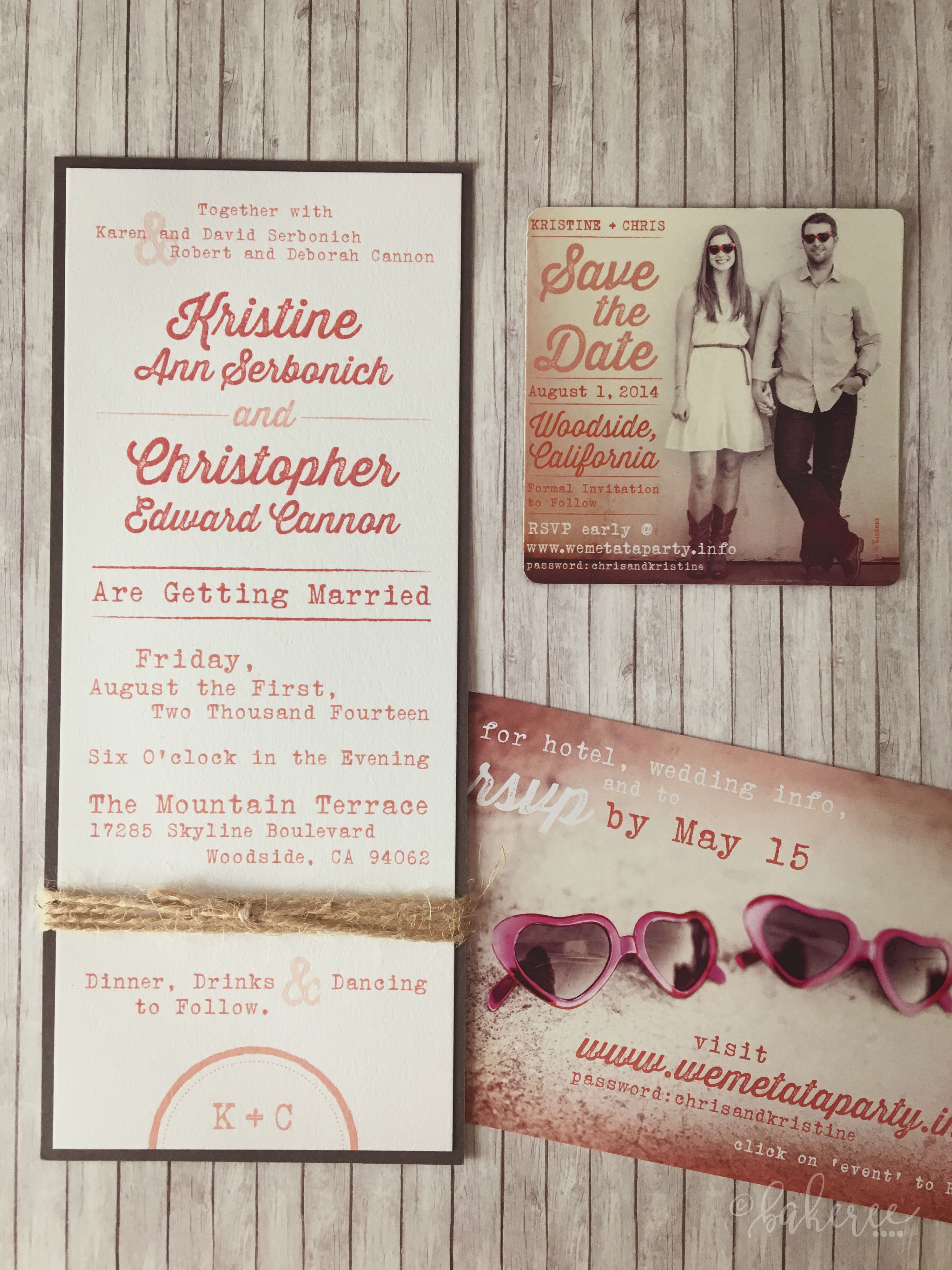 Vintage Typewriter Wedding Suite