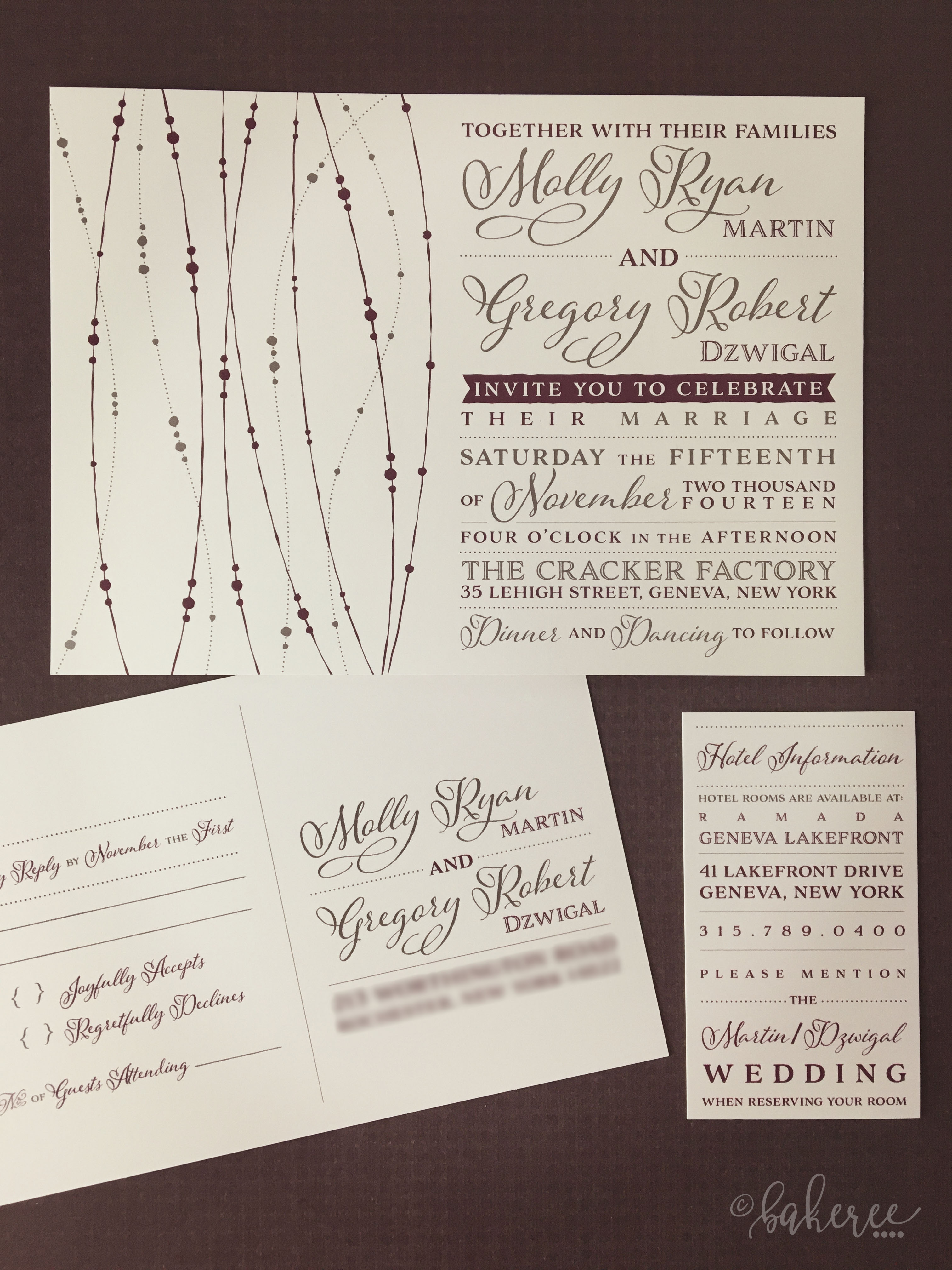 Silver Garland Wedding Suite