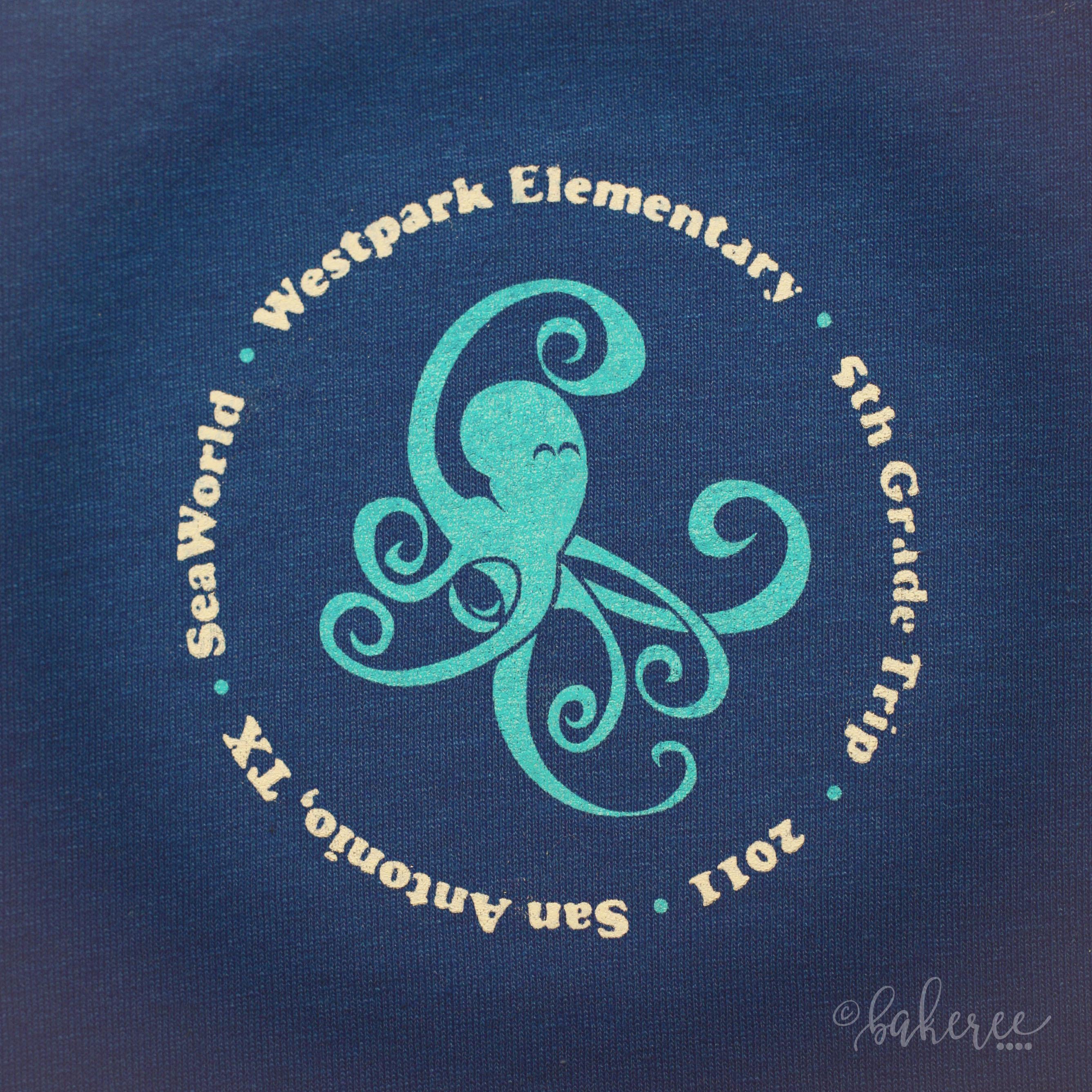 Field Trip Octopus T-shirt
