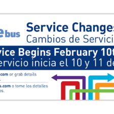 City of Santa Monica, Big Blue Bus Service Change Marketing