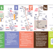 City of Santa Monica, Big Blue Bus Service Change Brochure