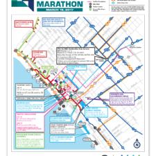 City of Santa Monica, LA Marathon Public Information Flyer